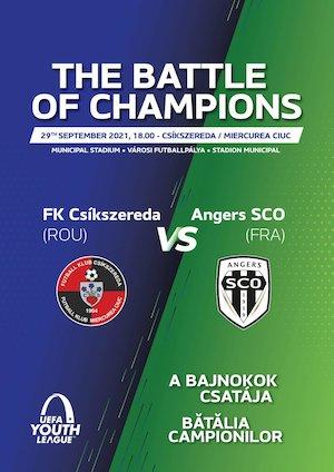 UEFA Youth League: FK Csikszereda - Angers SCO