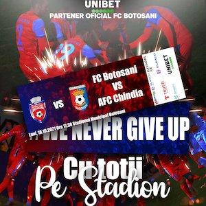 FC Botosani - AFC Chindia Targoviste - CASA Liga 1