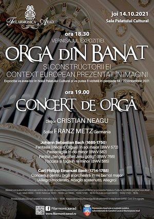 Bilete la  Concert de orga