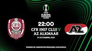 UEFA Conference League - CFR Cluj - AZ Alkmaar