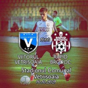 Bilete la  Viitorul Vetrisoara - FC Rapid Brodoc