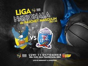 Bilete la  BC CSU Sibiu - SCMU Craiova - Baschet