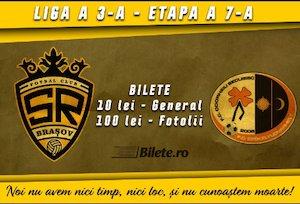 Bilete la  SR Brasov - AFC Odorheiu Secuiesc