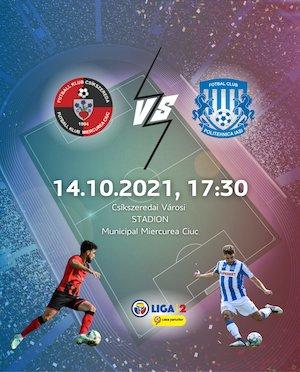 Bilete la  FK Csikszereda - ACSM Politehnica Iasi