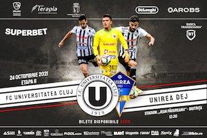 FC Universitatea Cluj - FC Unirea Dej