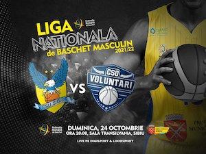 BC CSU Sibiu - CSO Voluntari - Baschet