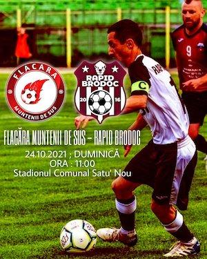 Flacara Muntenii de Sus - FC Rapid Brodoc