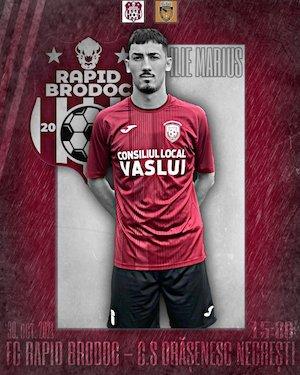 FC Rapid Brodoc - CS Orasenesc Negresti